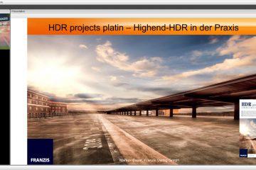 Webinar Präsentation von HDR Projects Platin