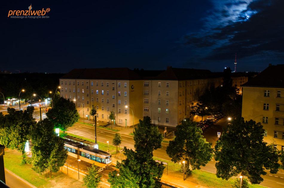 Nachtaufnahme Prenzlauer Berg Berlin