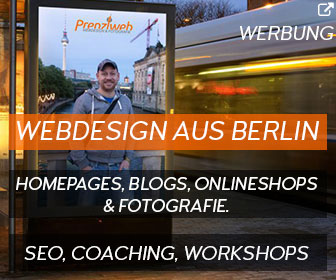 Webdesign aus Berlin: Prenzlweb