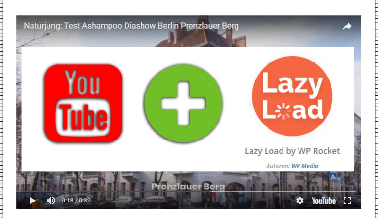 Youtube Video in WordPress mit Lazy Load einbinden