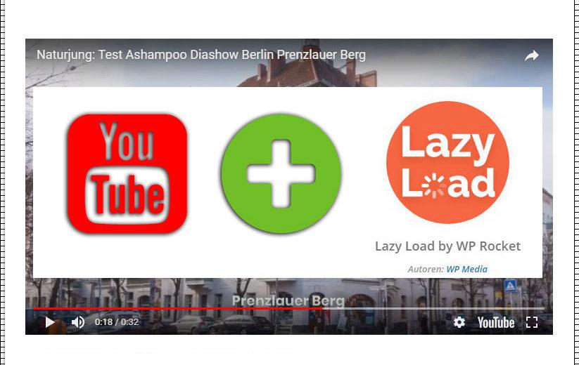 Youtube Video in WordPress mit Lazy Load einbinden