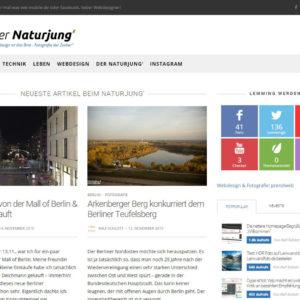 Naturjung Blog alt Theme Sprout