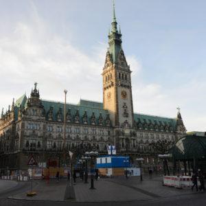 Hamburger Rathaus Totale