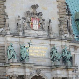 Hamburger Rathaus Detail