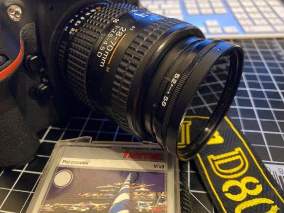 Nikon D800 mit Retro-Objektiv & Polfilter